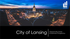 City of Lansing Opportunity Zones Prospectus 2020 cover image