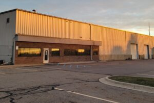 Picture of new Cameron Ashley distribution facility in Delta Township, Michigan.